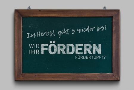 Fördertopf Safe the date